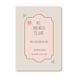 All You Need Is Love Notebook