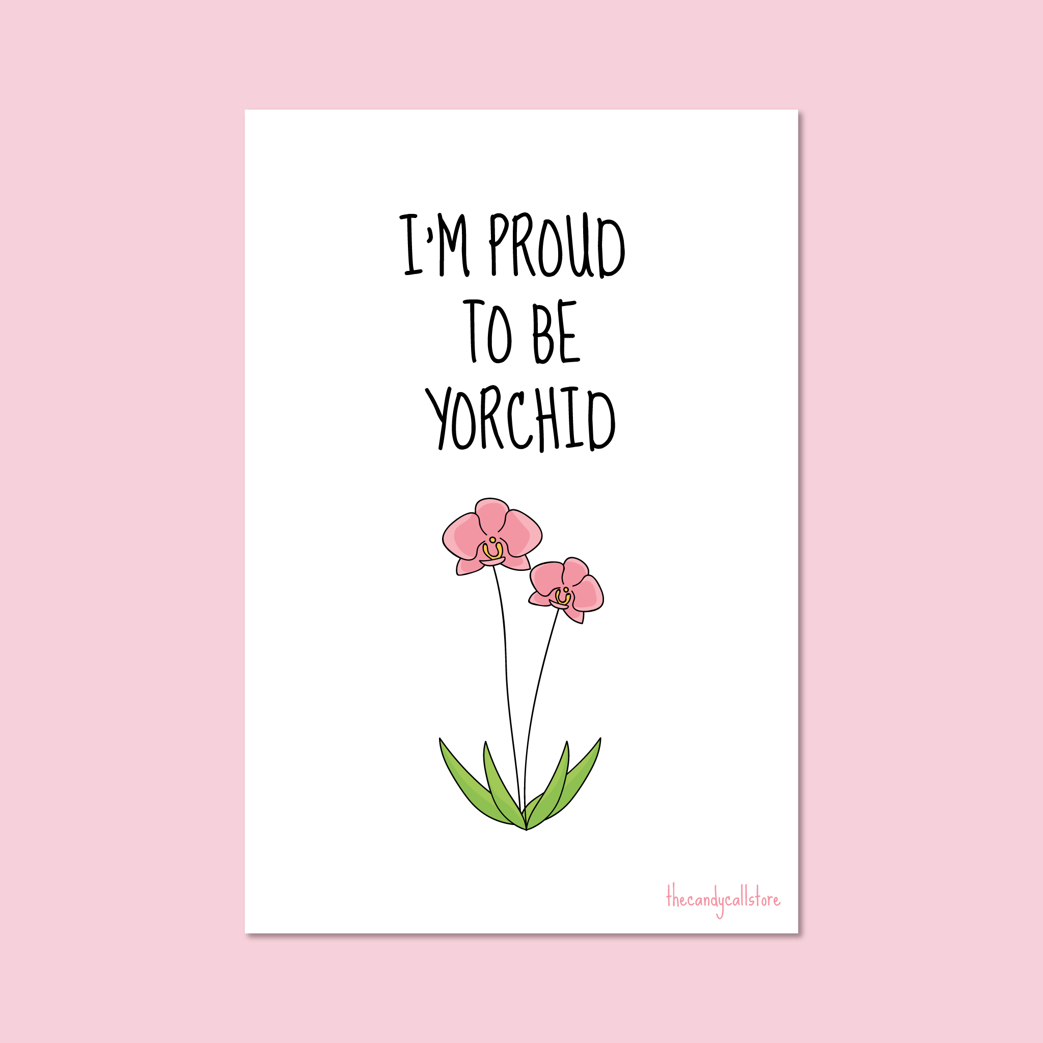 'Proud Kid' Postcard