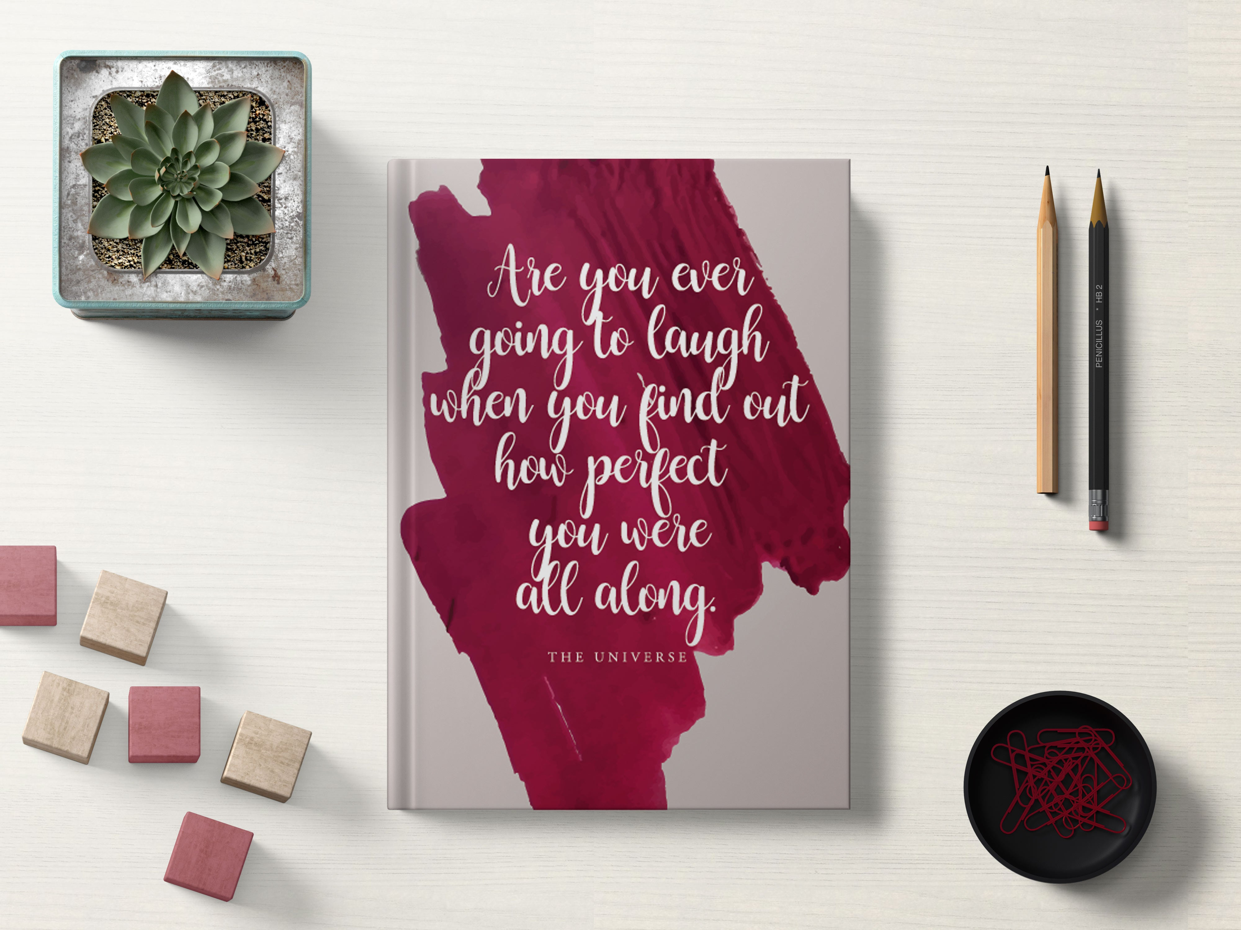 You're Perfect - Hardbound Diary