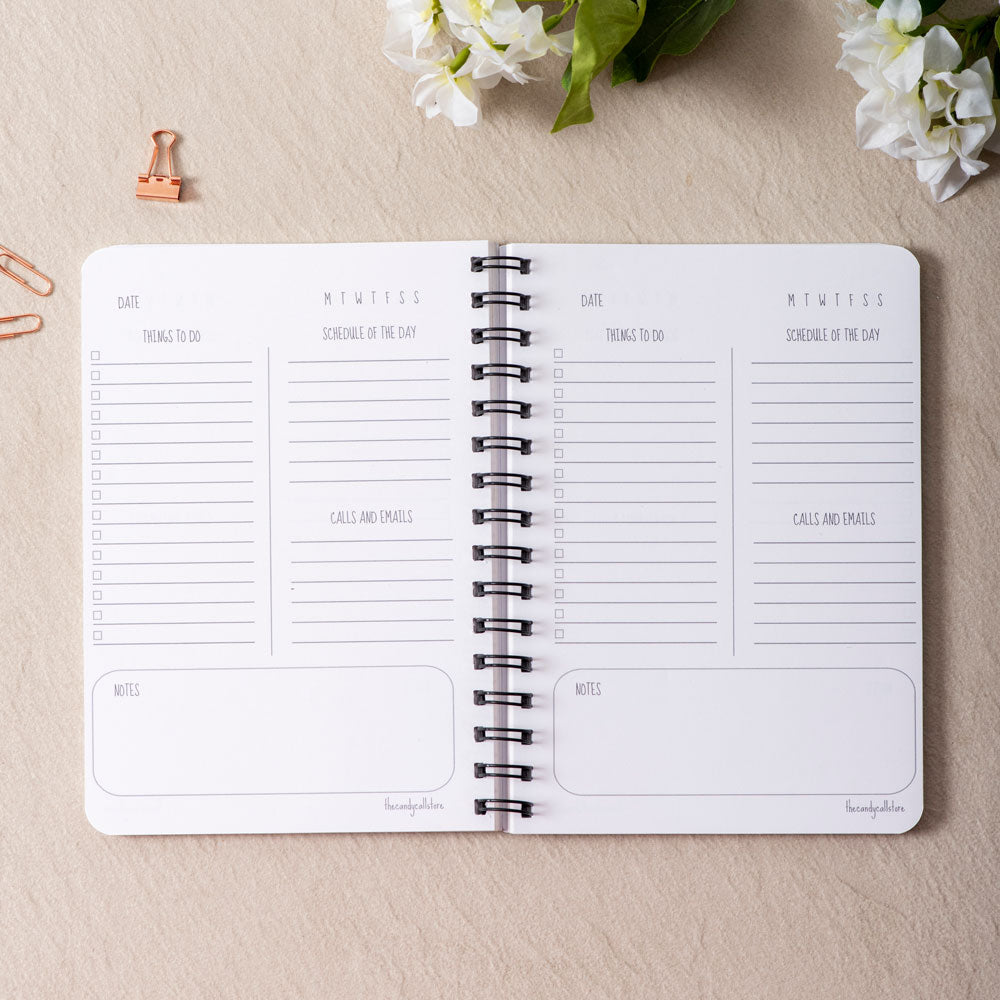 It's just a picture of The Daily Planner inside printout