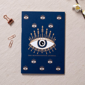 Evil Eye Manifestation Journal ( Gold Printed )