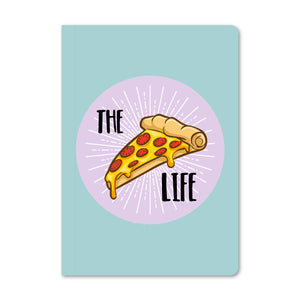 The Pizza Life (Blue) Notebook