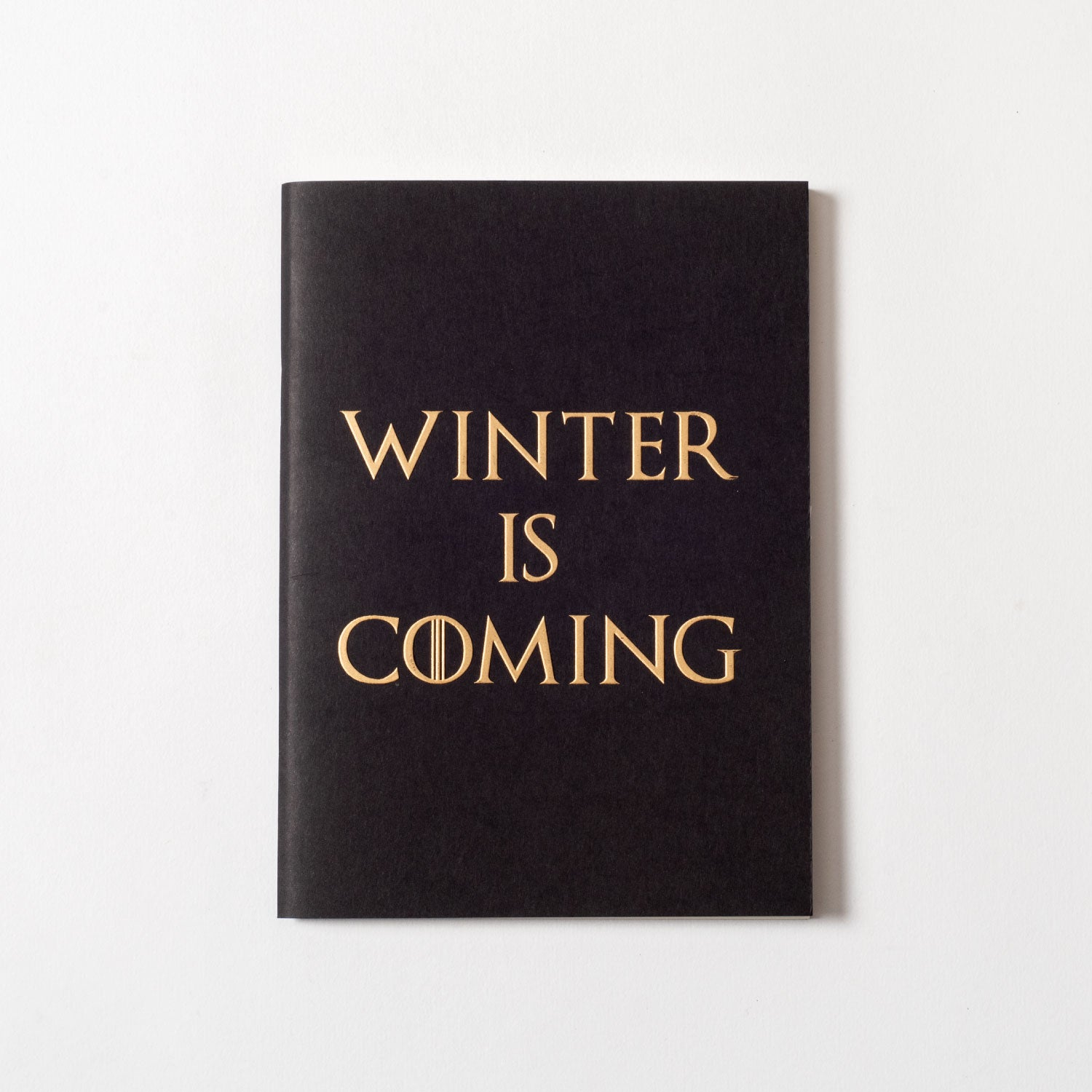 Game Of Thrones - Set Of Two Gold Printed Notebooks