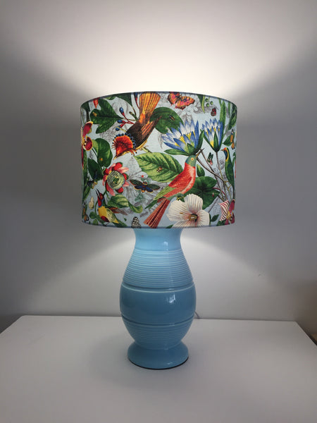 Paradise Lampshade | Colourful Botanical Lamp Shade