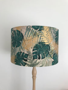 Gold Palm Lampshade