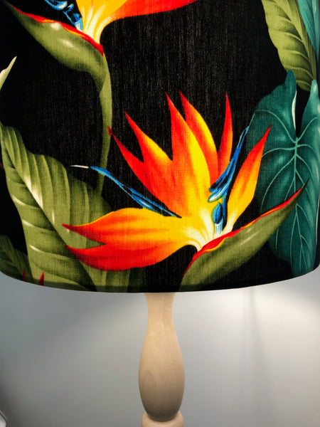 Bird of Paradise Lampshade - STRELITZIA