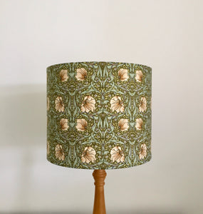 William Morris Pimpernel Lampshade - GREEN