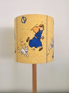 TinTin & The Cigars of The Pharaoh Lampshade | Handmade in Australia