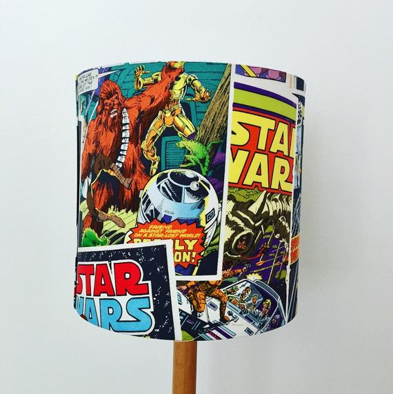 Star Wars Comic Book Cover Lampshade - Vintage Style