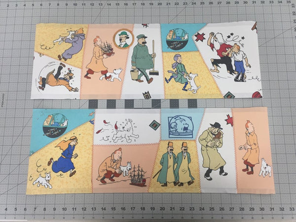 Tintin Patchwork Lampshade - The Adventures of Tintin