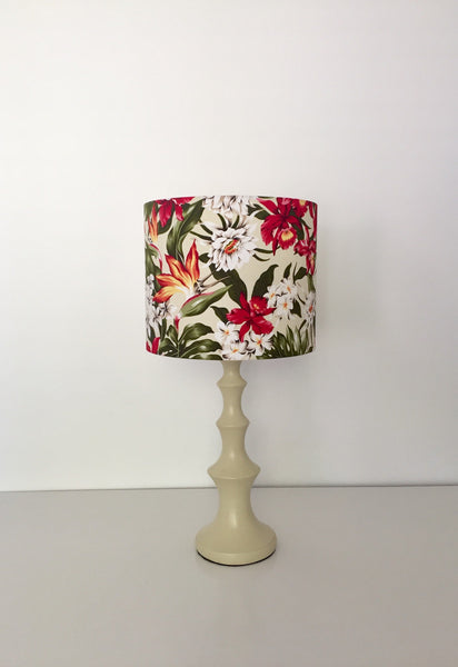 Tropical Flowers Lampshade