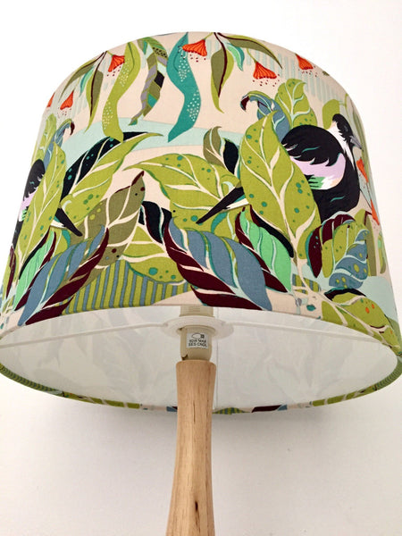 Magpie Lampshade -GREEN