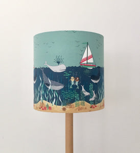 Mermaid Sisters Lampshade