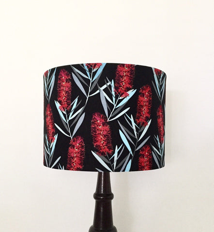 Australian Bottlebrush Lampshade | Australiana | Lamp Shade