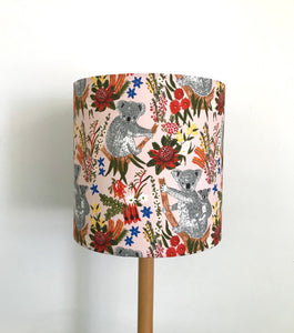 Koala & Native Garden Lampshade
