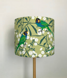 Ringneck Parrot Lampshade