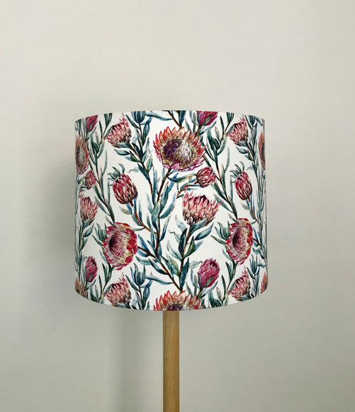 Pink Protea Lampshade