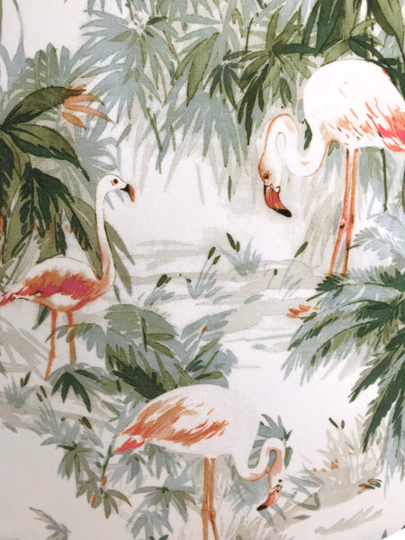 Flamingo & Palm Lampshade