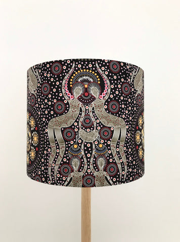 Women Collecting Bush Food Lampshade - Aboriginal