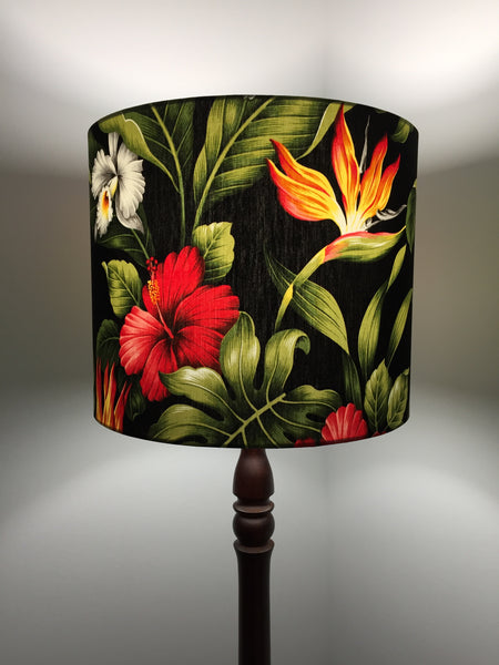 White Orchid Lampshade
