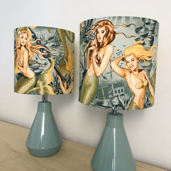 Mermaid Table Lamps