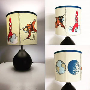 Tintin Explorers On The Moon Table Lamp