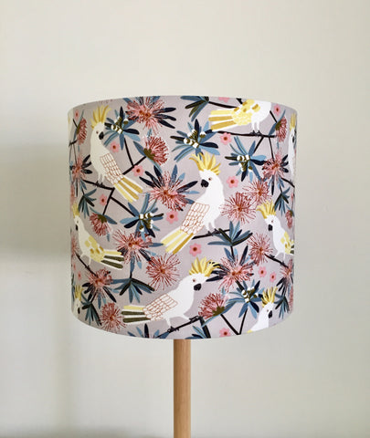 White Cockatoo Lampshade