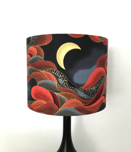 Red Sky Lampshade