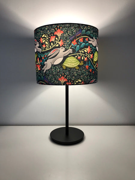 Aesop Fable - The Tortoise and The Hare Lampshade