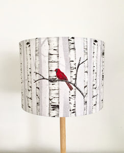 Red Cardinal Lampshade