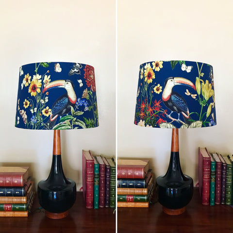 Retro Toucan Lampshades ( Tapered )
