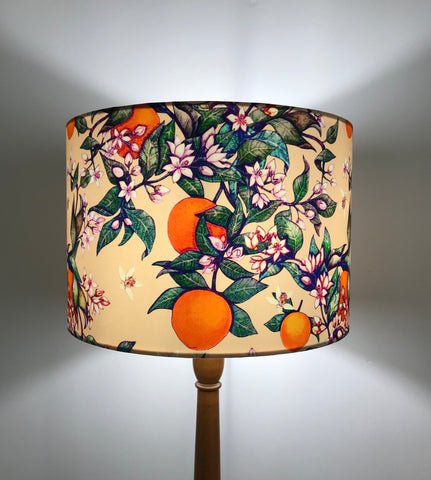 Orange Blossom Lampshade