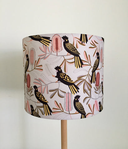 Black Cockatoo Lampshade
