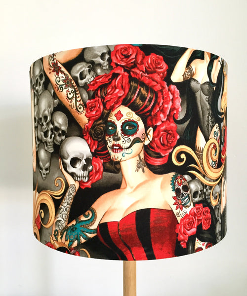 Day Of The Dead Lampshade