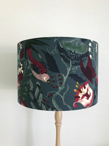 Bird and Butterfly Lampshade
