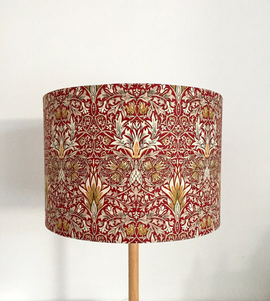 Snakeshead Lampshade | William Morris | Handmade in Australia