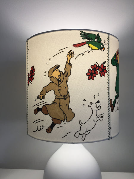Tintin & The Broken Ear Lampshade
