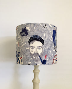Captain Nautical Lampshade - Americana Theme