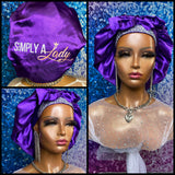 SAL Luxury Satin Bonnet
