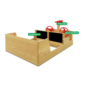 Admiral Play Boat - Boat Sandpit - Multipurpose Features