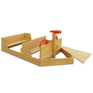 Admiral Play Boat - Boat Sandpit - Storage Feature