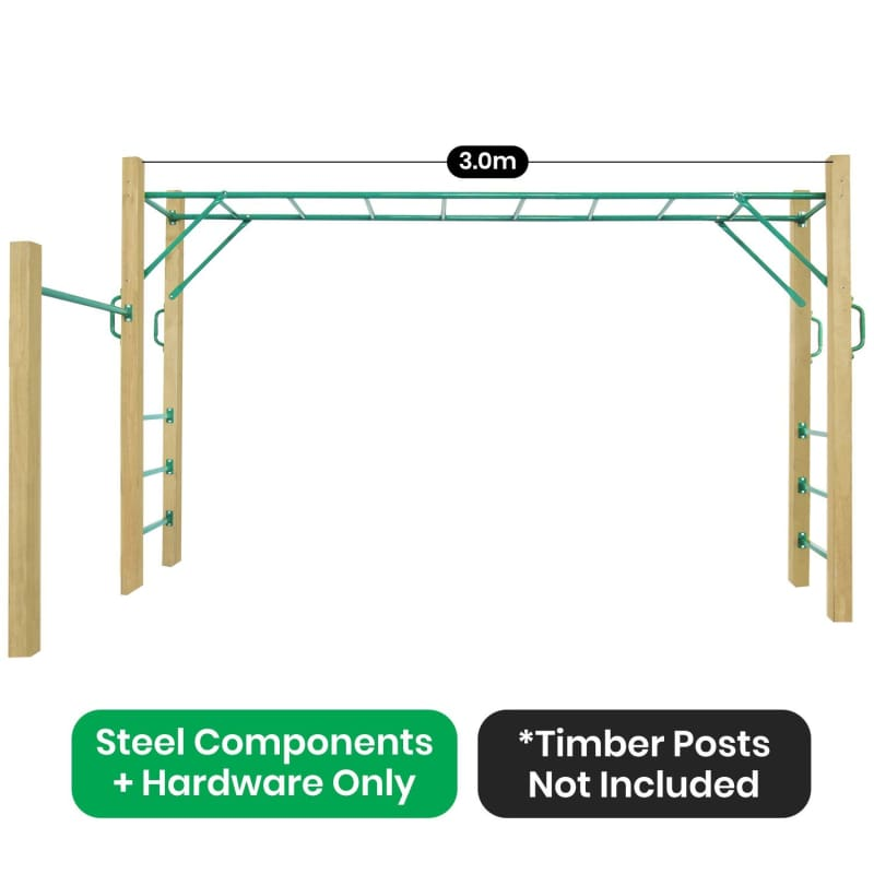 Amazon Monkey Bars Only 3.0m