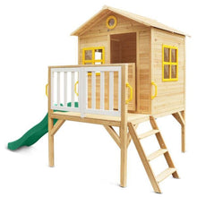Archie Cubby House with Green Slide - Product Image 2