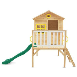 Archie Cubby House with Green Slide - Product Image 3