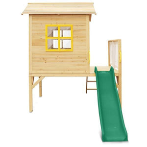 Archie Cubby House with Green Slide - Product Image 4