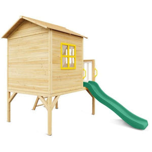 Archie Cubby House with Green Slide - Product Image 5