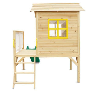 Archie Cubby House with Green Slide - Product Image 7