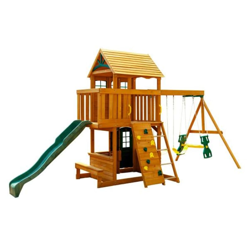 Ashberry Wooden Playset - Outdoor Play Centre - Free Shipping*
