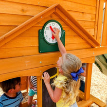 Ashberry Wooden Playset - Clock Feature