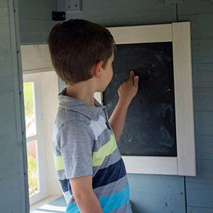 Backyard Discovery Spring Cottage Cubby House - Chalkboard Feature